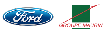 Logo Ford et Groupe Maurin - Long